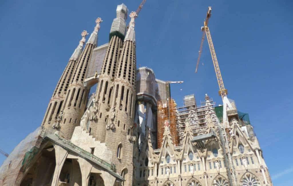Sagrada Familia betaalt 4,5 miljoen voor bouwvergunning
