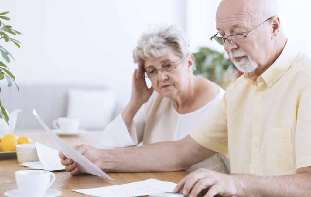 Gemiddelde ouderdomspensioen in Spanje in september is 1.141 euro