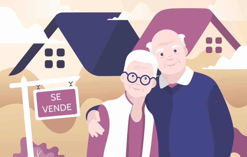 Ouderen verkopen woning aan de Costa Blanca met vruchtgebruik garantie