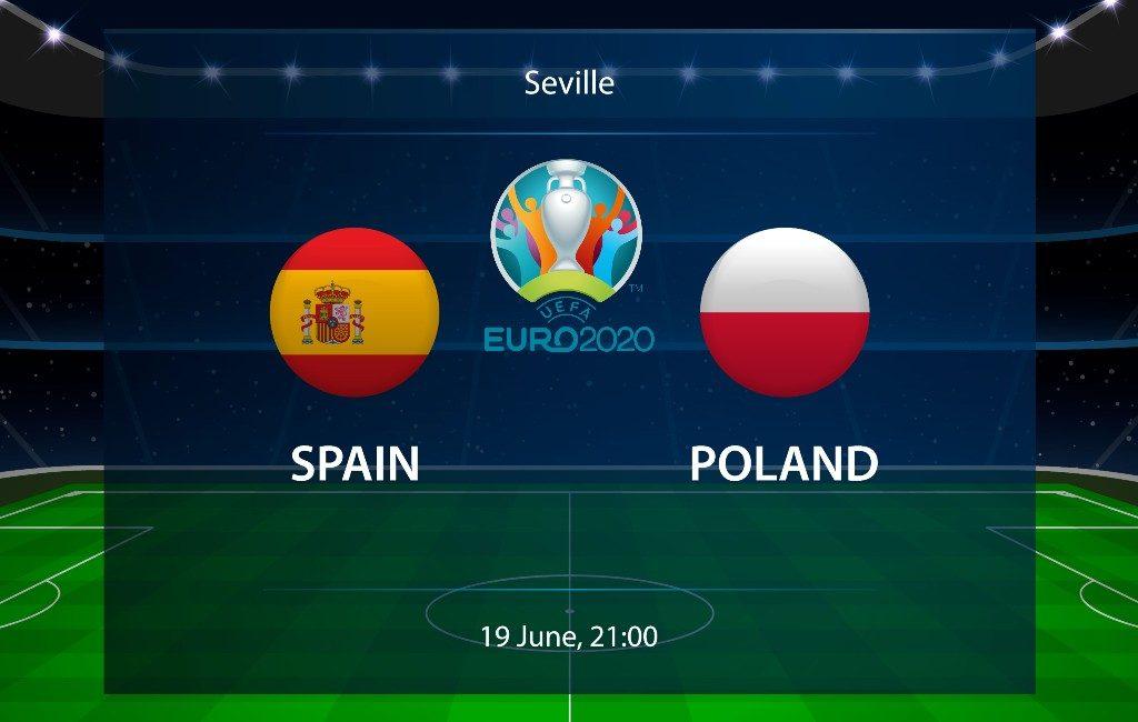 EK-2021 19 juni: Spanje speelt tweede groepsfase wedstrijd tegen Polen
