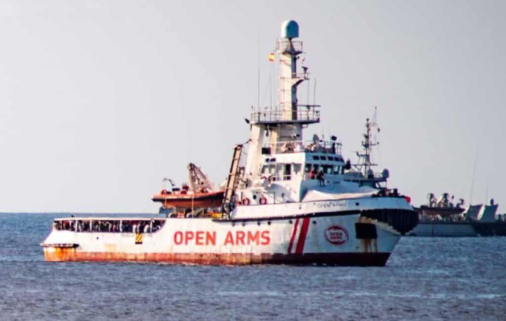 Spanje biedt Open Arms de dichtstbijzijnde haven aan