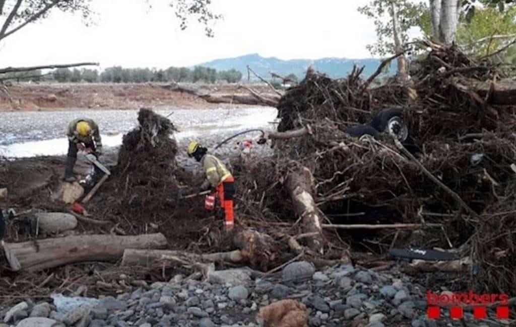 Belgische vrachtwagenchauffeur verdwenen tijdens noodweer Tarragona