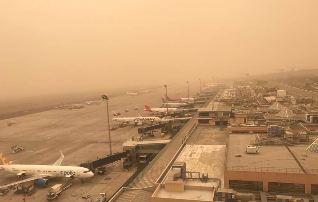 Vliegvelden Canarische Eilanden opnieuw gesloten vanwege calima en wind