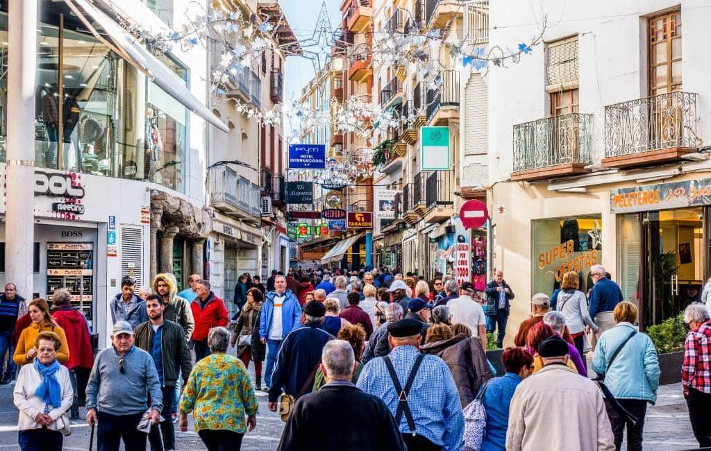 Brexit en parkeerkaart zorgen voor meer inwoners Benidorm