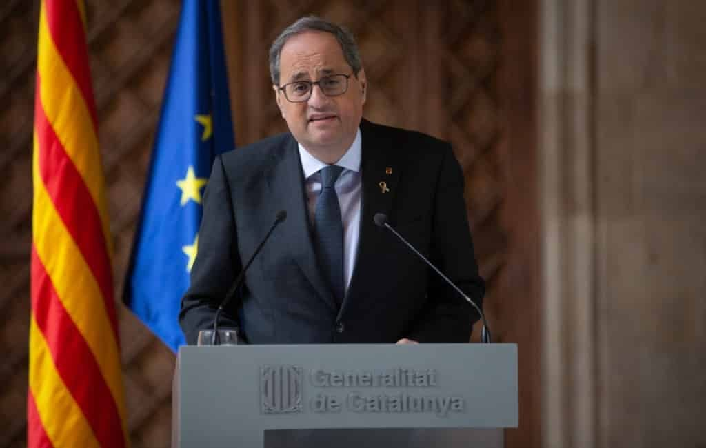 18 maanden diskwalificatie Catalaanse regiopremier Torra