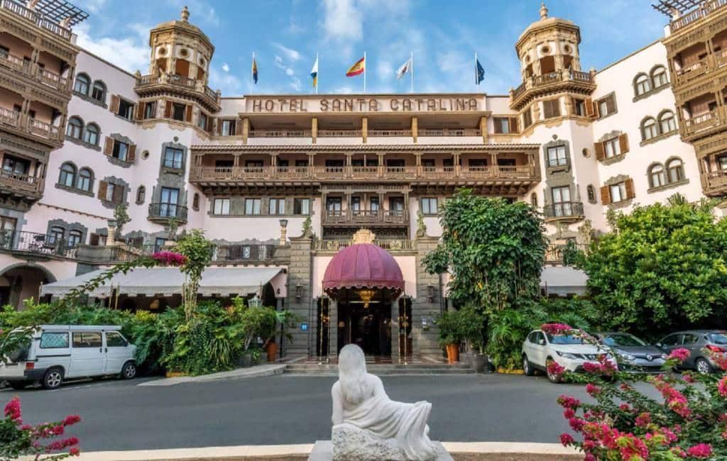 Beste historische luxe hotel van Europa te vinden op Gran Canaria