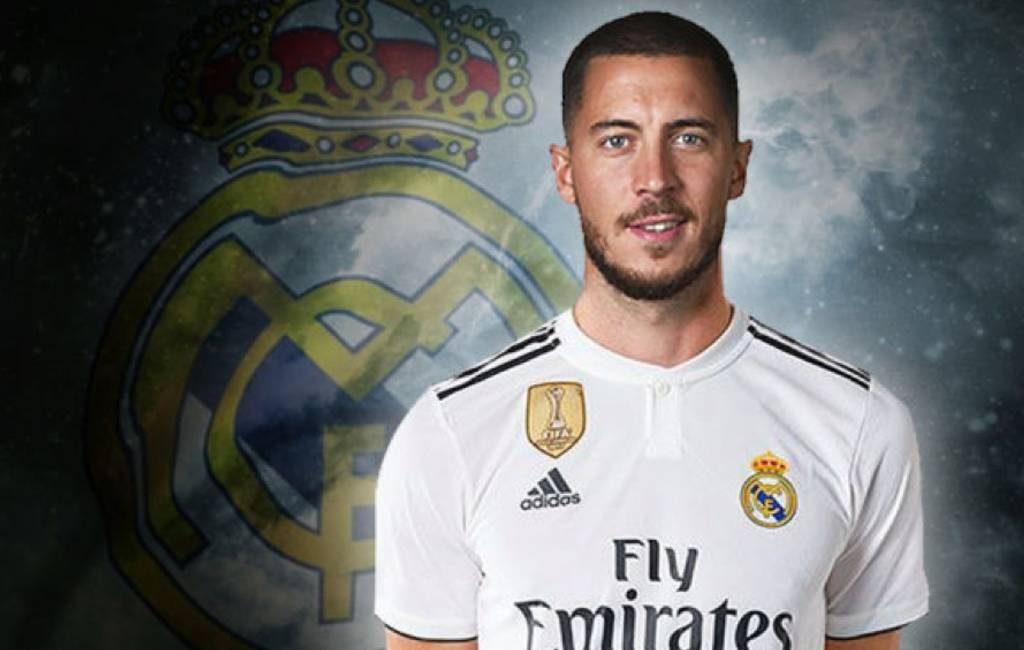 Real Madrid neemt Belgische Eden Hazard over van Chelsea