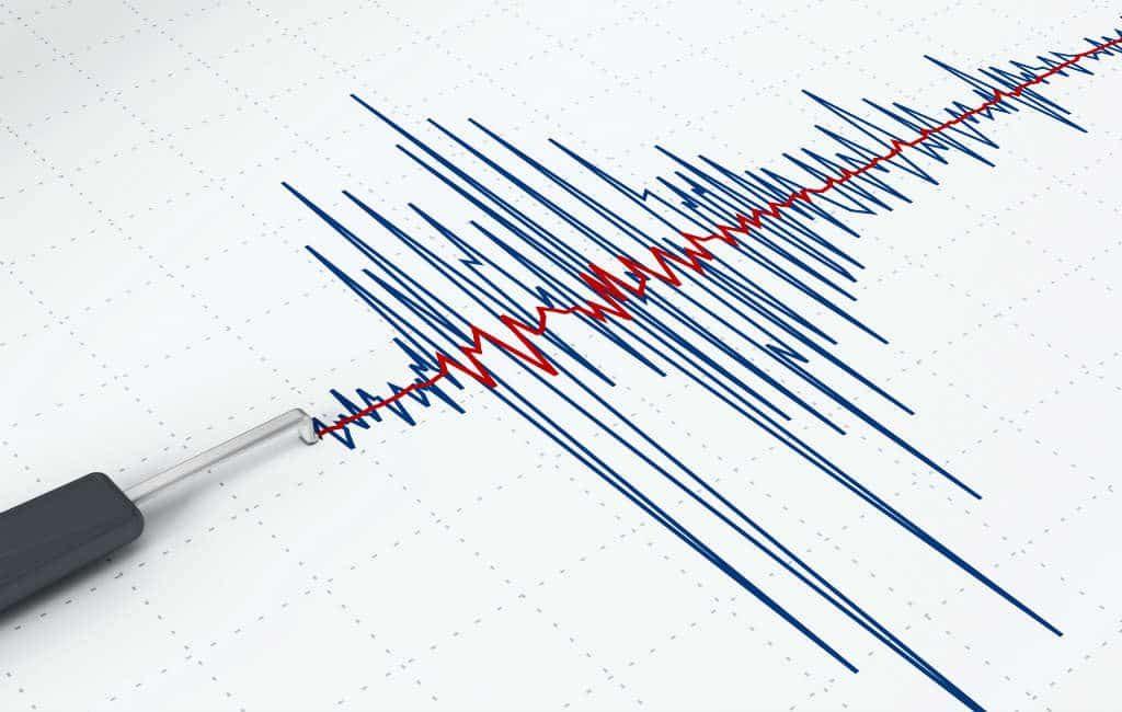 Aardbeving van 4 op de schaal van Richter gevoeld op Tenerife