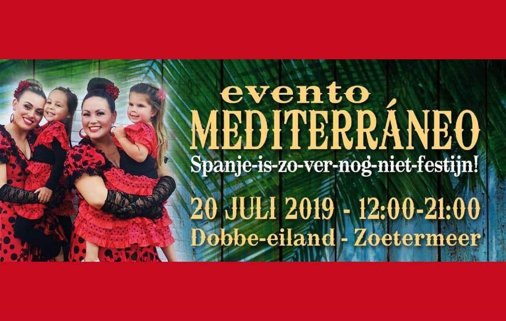 Spaanse dag in zoetermeer tijdens het 'Evento Mediterráneo'