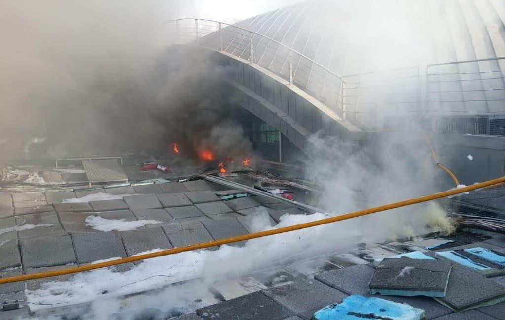 Vliegveld Alicante-Elche kort ontruimd vanwege brand