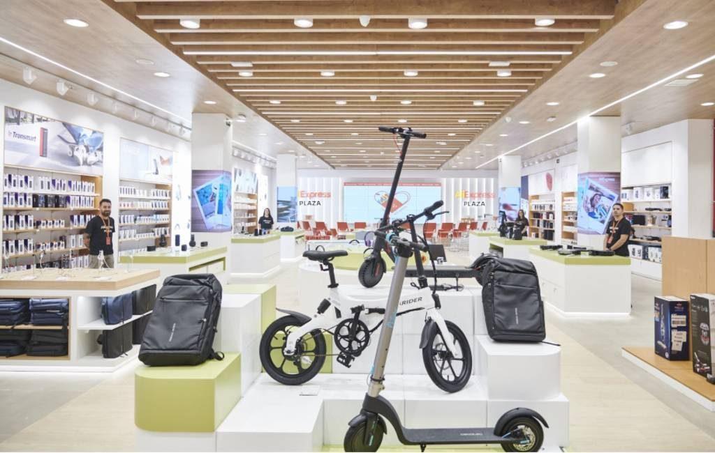 Derde fysieke AliExpress winkel van Spanje en Europa wordt in Barcelona geopend