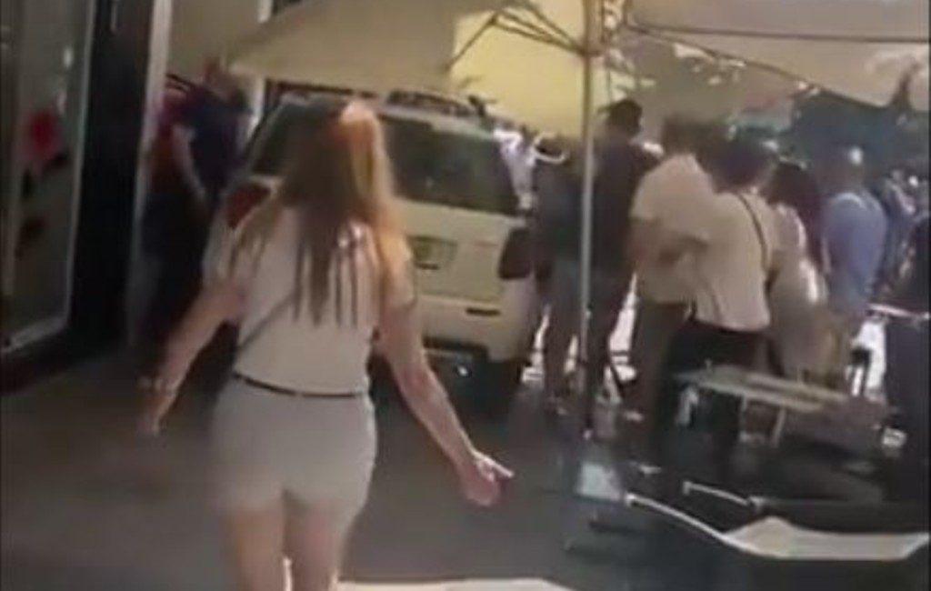 Automobilist rijdt in op diverse terrassen in Marbella met 9 gewonden tot gevolg