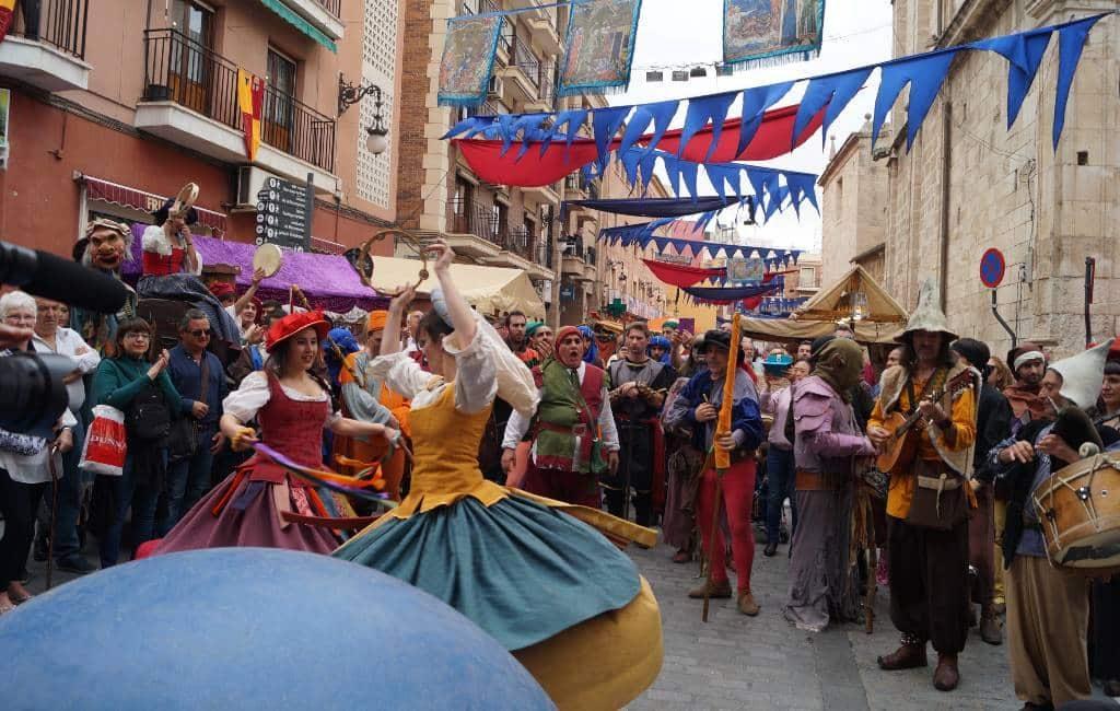 Orihuela klaar voor de Middeleeuwse markt