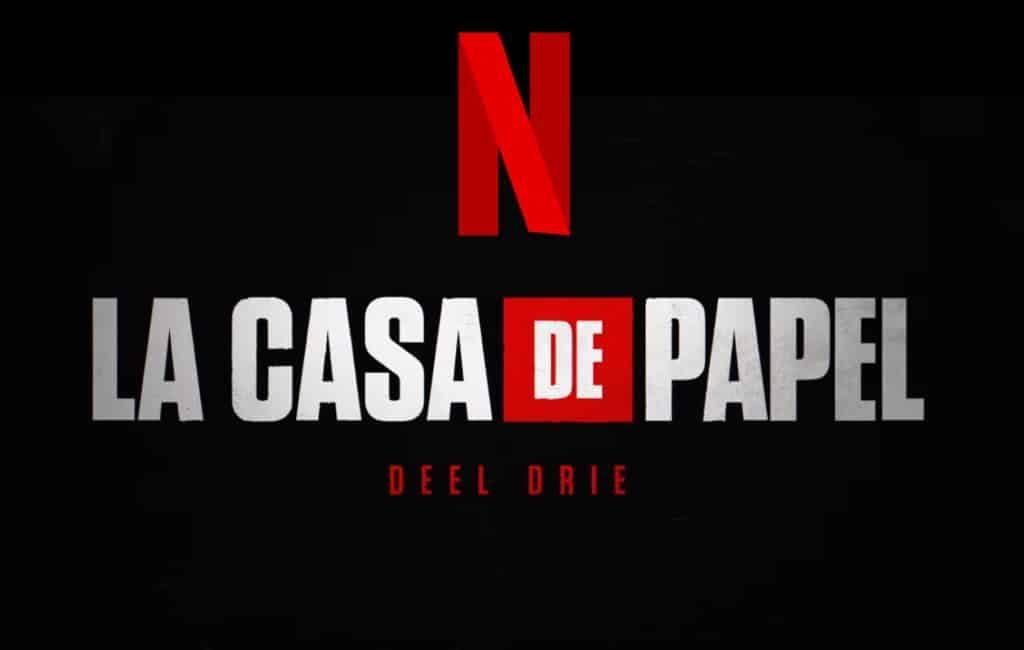 Seizoen 3 van Spaanse Netflix serie La Casa de Papel op 19 juli te zien