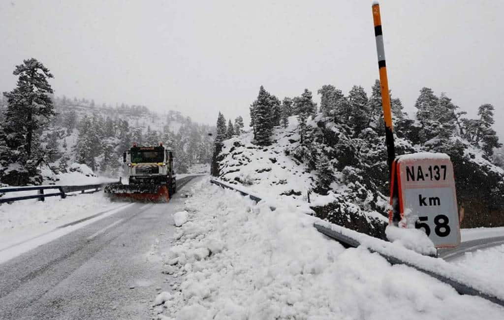Rood weeralarm vanwege kou en sneeuw in noordwest en noord Spanje