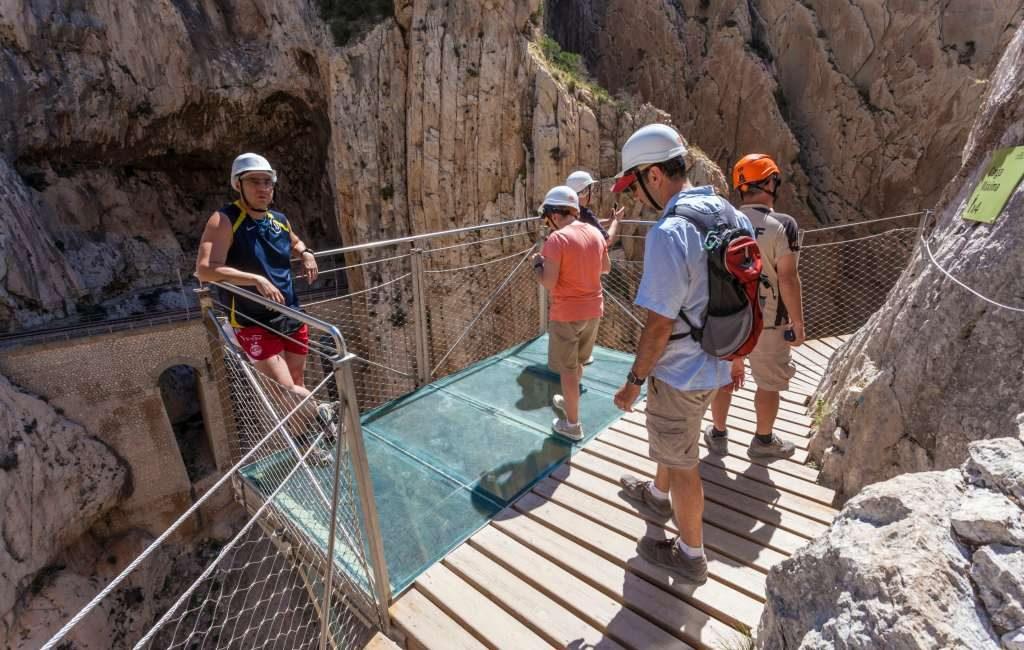 Caminito del Rey krijgt drie nieuwe wandelroutes en hangbrug