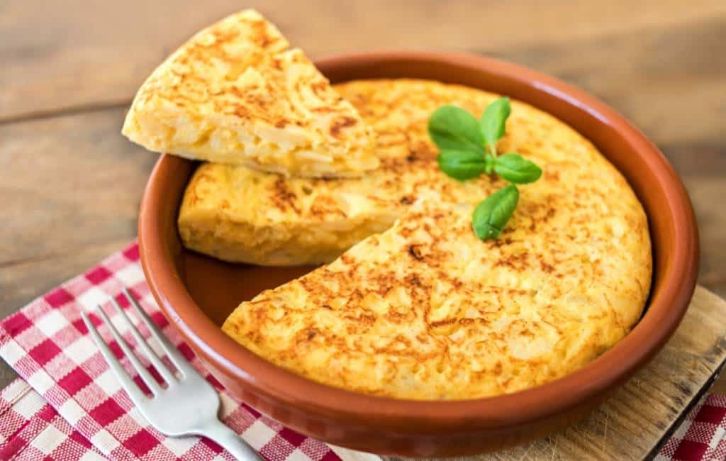 Spaanse 'tortilla de patata' met of zonder ui