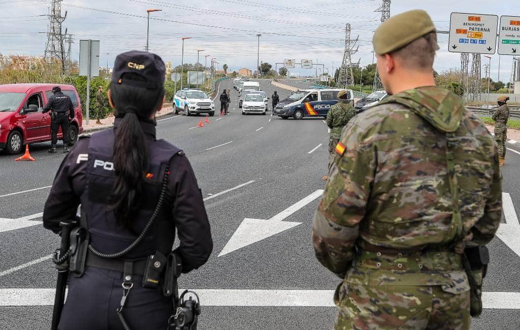 Uitzonderingen om met de auto te rijden tijdens noodtoestand in Spanje