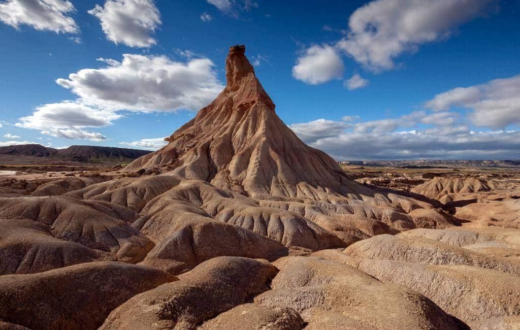 10x landschappen van een andere planeet in Spanje