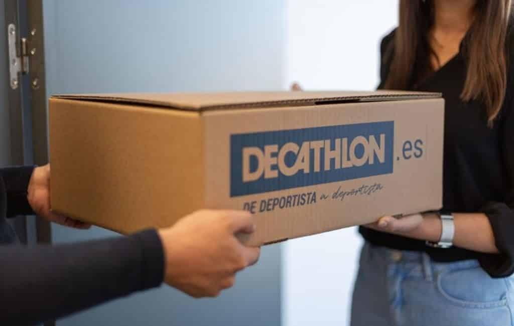 Decathlon levert binnen twee uur thuis na online verkoop