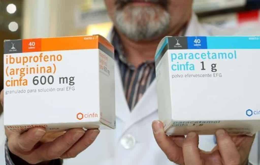 Zwaardere Ibuprofen en Paracetamol alleen met doktersrecept in Spanje
