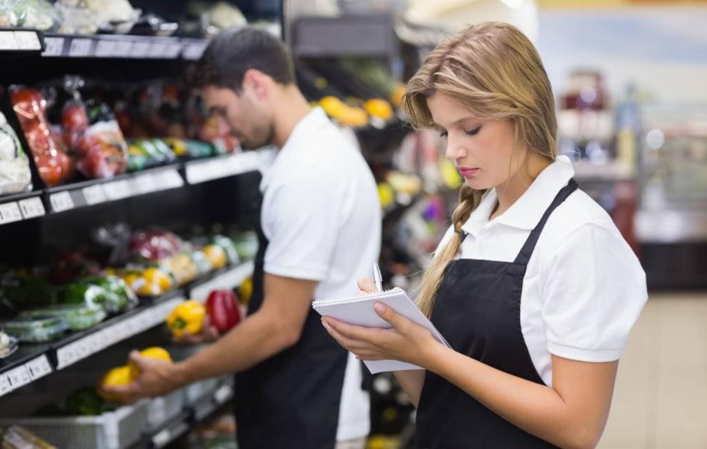 Salarissen van het supermarktpersoneel in Spanje