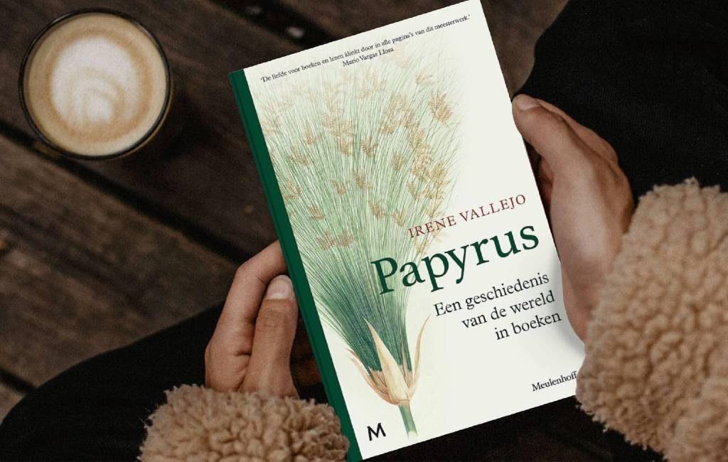 Nieuw boek: Spaans boeken succes 'Papyrus' nu ook in het Nederlands verkrijgbaar