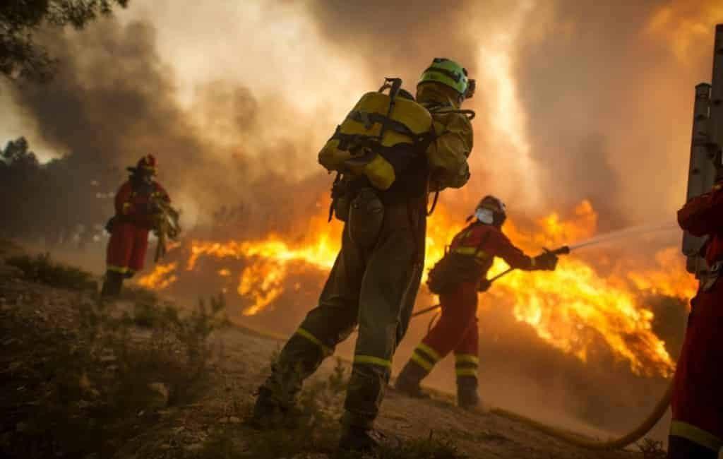 Aantal bosbranden in Spanje met 52% gedaald