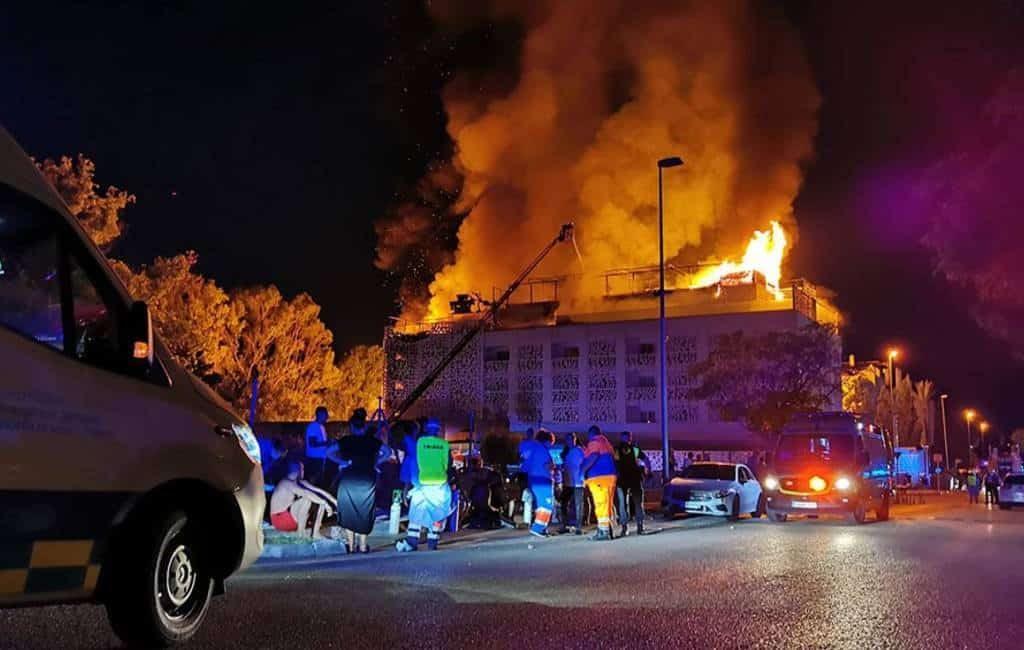 Een dode en diverse gewonden bij uitslaande brand luxe hotel Marbella
