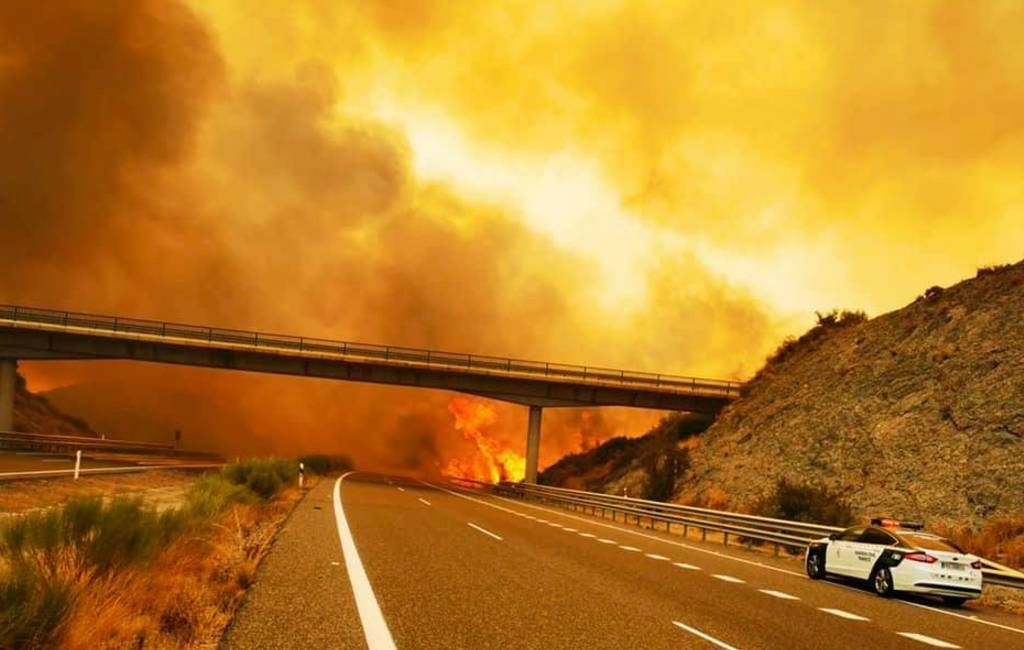 Update natuur- en bosbrand Sierra Bermeja aan de Costa de Sol