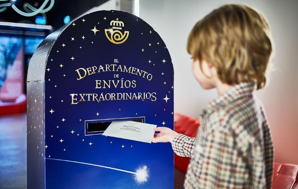 Drie Wijzen en Kerstman brievenbussen voor alle kinderen in Spanje