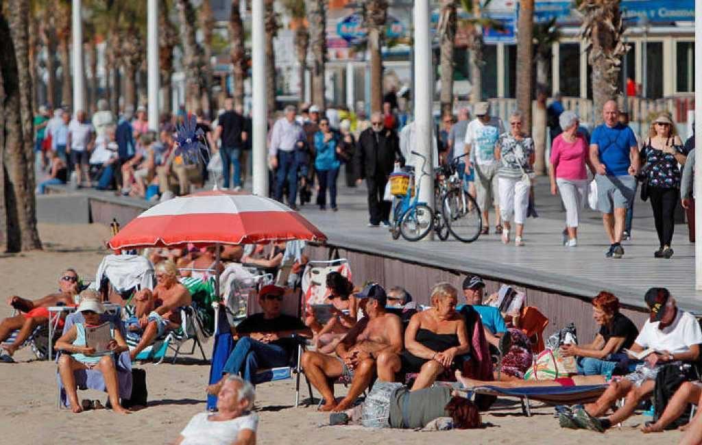2018 afgesloten met nieuw record aan buitenlandse toeristen in Spanje