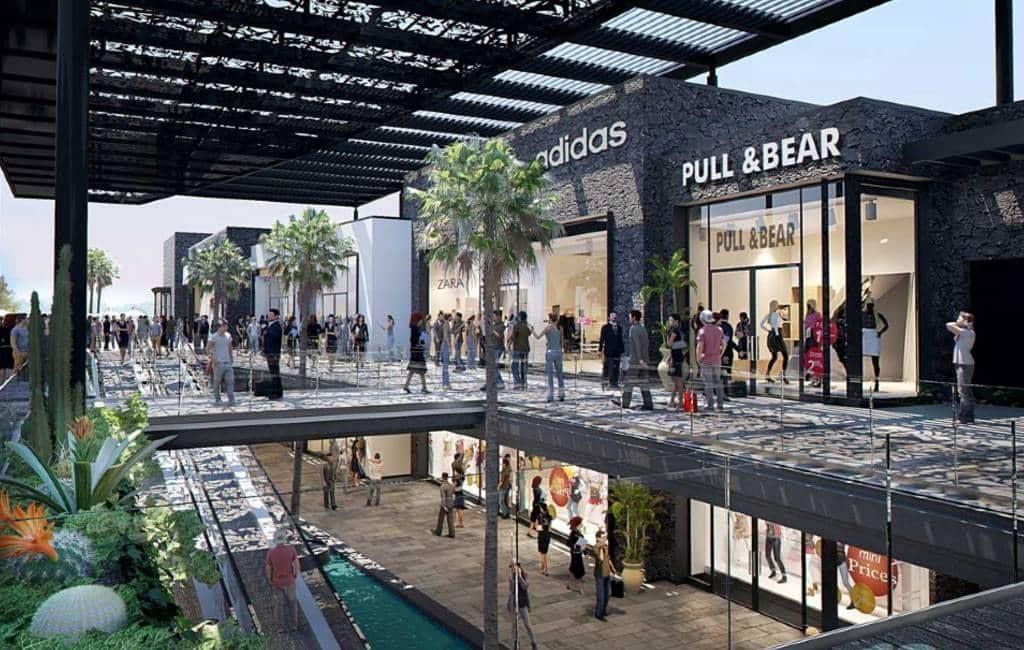 Nieuw winkelcentrum geopend in Puerto Rico op Gran Canaria