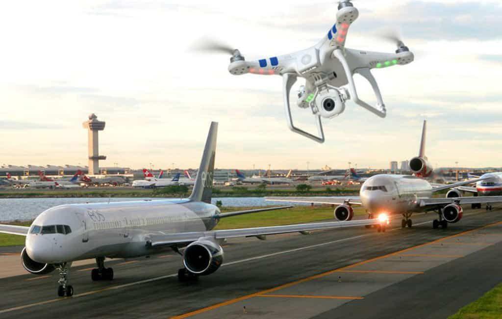 Is de chaos veroorzaakt door drones bij vliegveld Gatwick ook mogelijk in Spanje?
