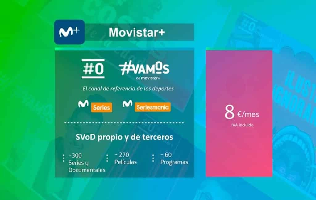 Movistar start een eigen Netflix in Spanje