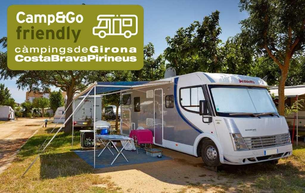Nieuw: Camp & Go voor kampeerauto toeristen op campings in de provincie Gerona