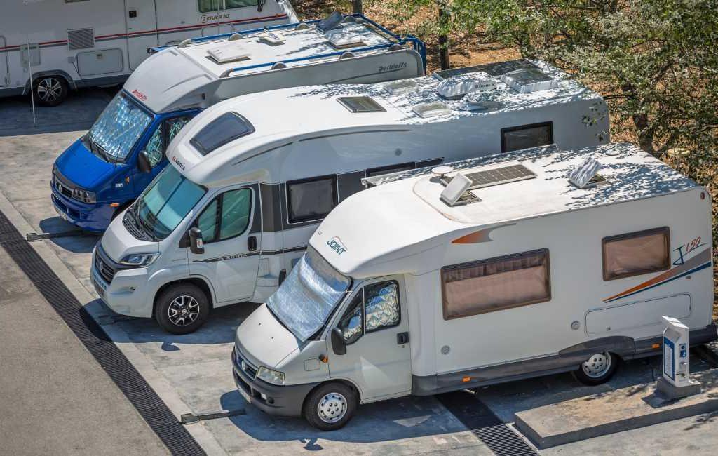 Minder campers en kampeerwagens verkocht in juli in Spanje