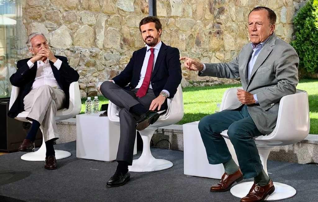 Spaans voormalig minister noemt in bijzijn van PP-partijleider Mark Rutte een 'hoerenzoon'