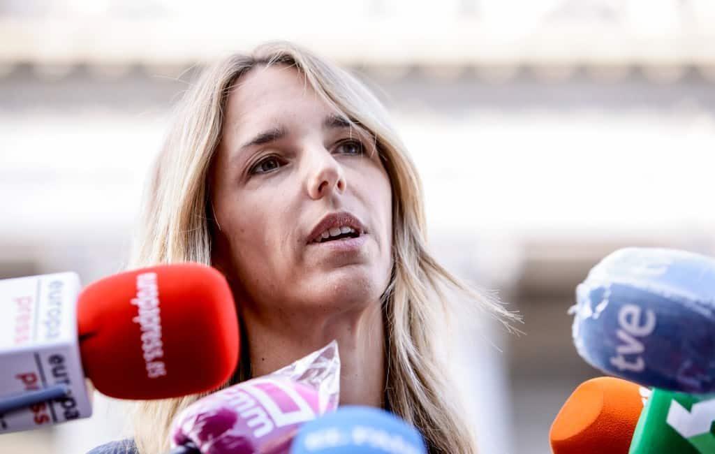 Partido Popular (PP) heeft problematische woordvoerster vervangen
