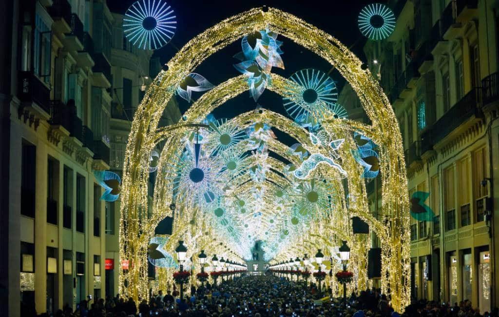 Gemeente Málaga had niet zo'n succes verwacht deze kerst