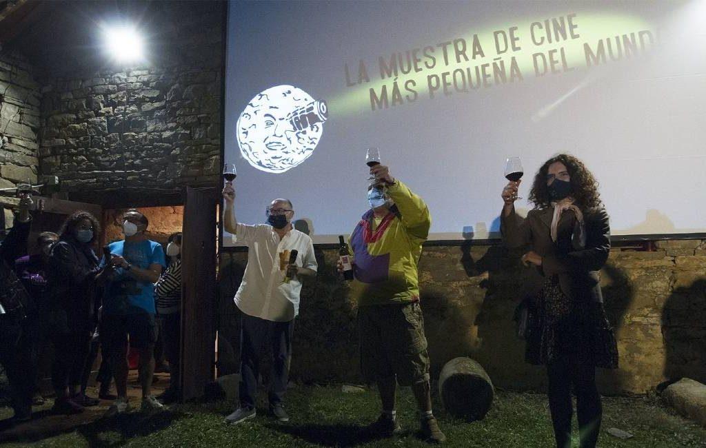 Ascaso in de provincie Huesca viert de tiende editie van het kleinste filmfestival ter wereld