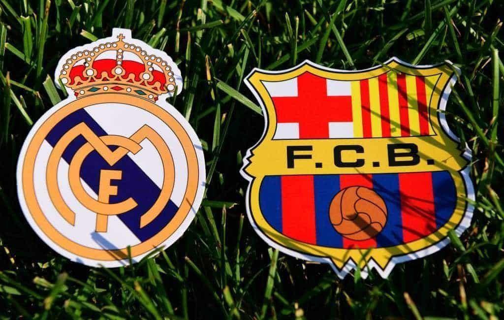 Tweede voetbalklassieker 'El Clásico' dit seizoen tussen Real Madrid en FC Barcelona