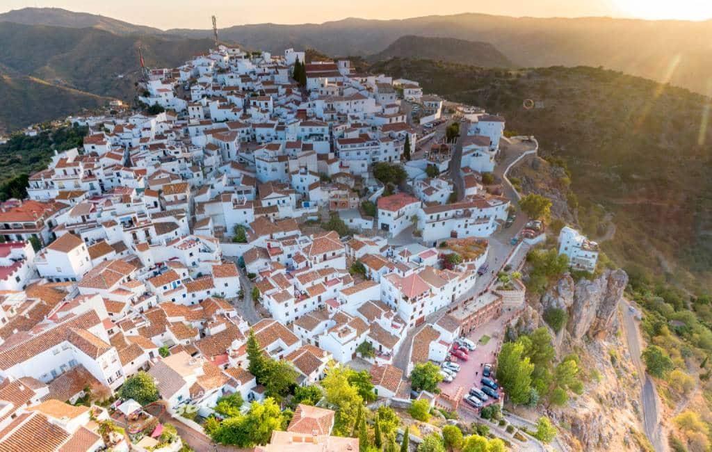 Corona-vrije dorpen in de provincie Málaga