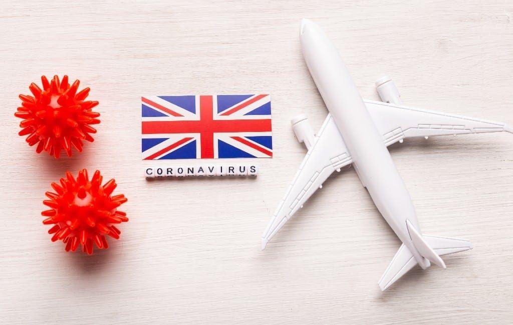 Nog geen vliegverbod op vluchten naar het Verenigd Koninkrijk in Spanje