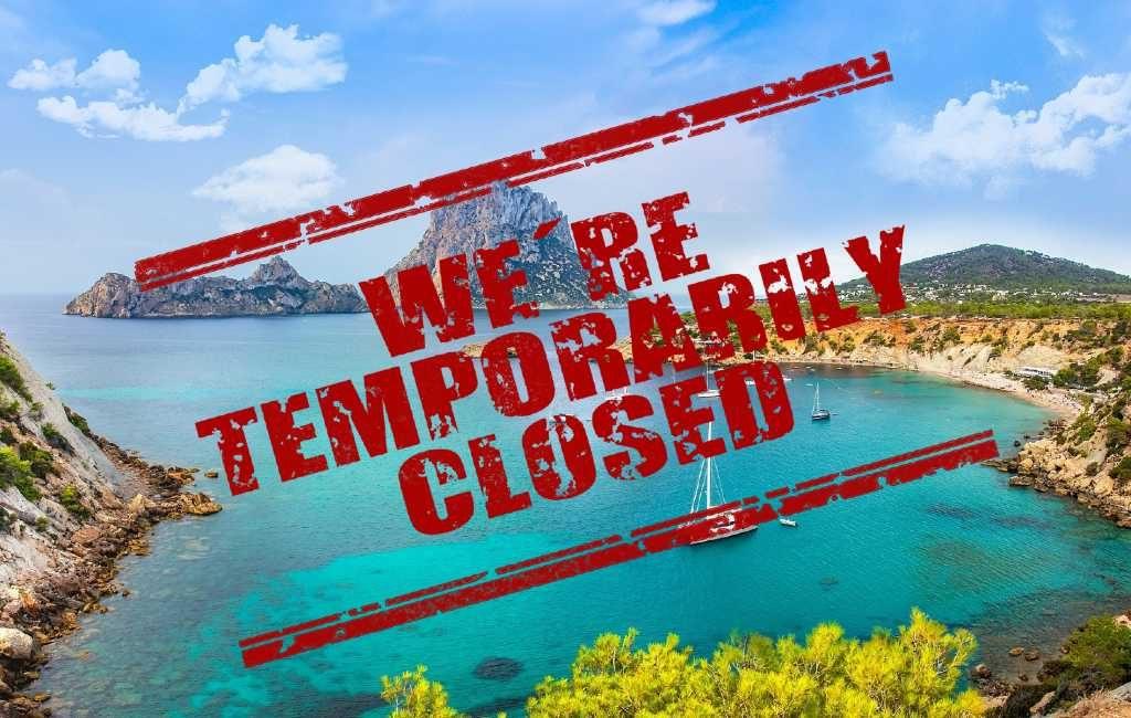 Balearen eiland Ibiza krijgt ook een eiland-lockdown