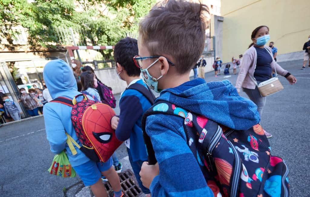 Eerste scholen gaan weer open in Spanje