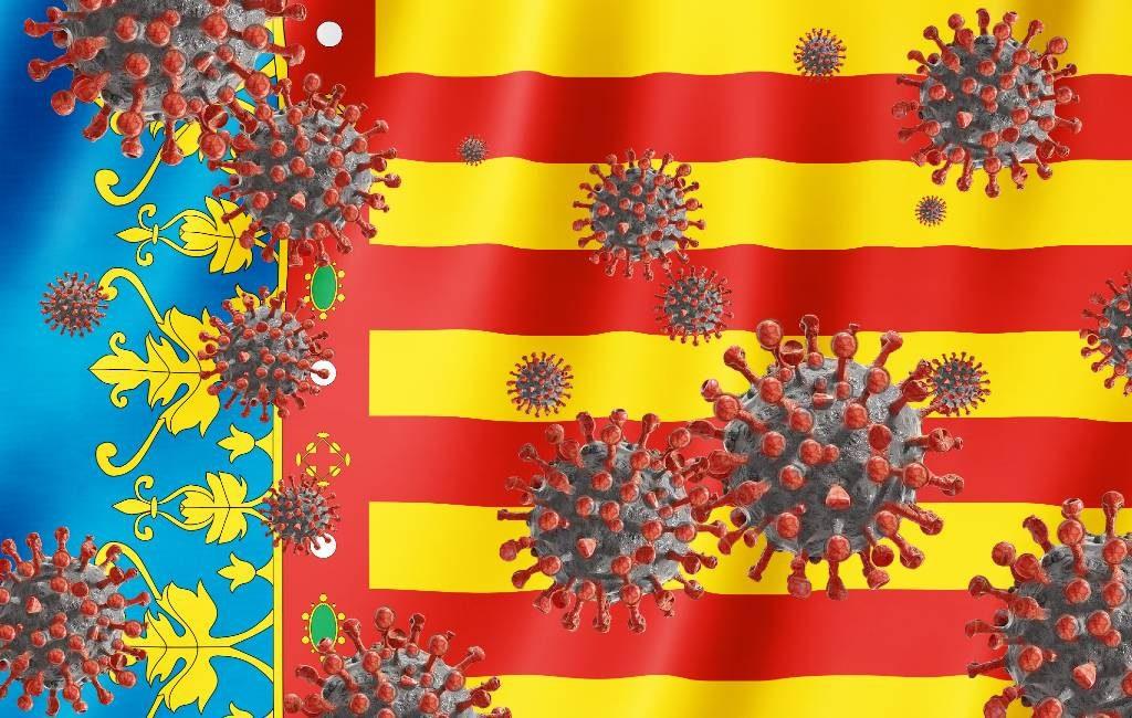 Record corona-cijfers in Valencia regio: 90 doden en 8.630 positieve coronatests