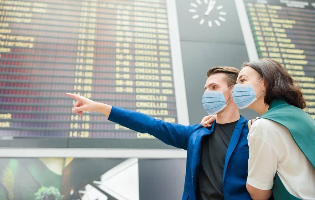 Internationale vliegverkeer in augustus met 80% gedaald in Spanje