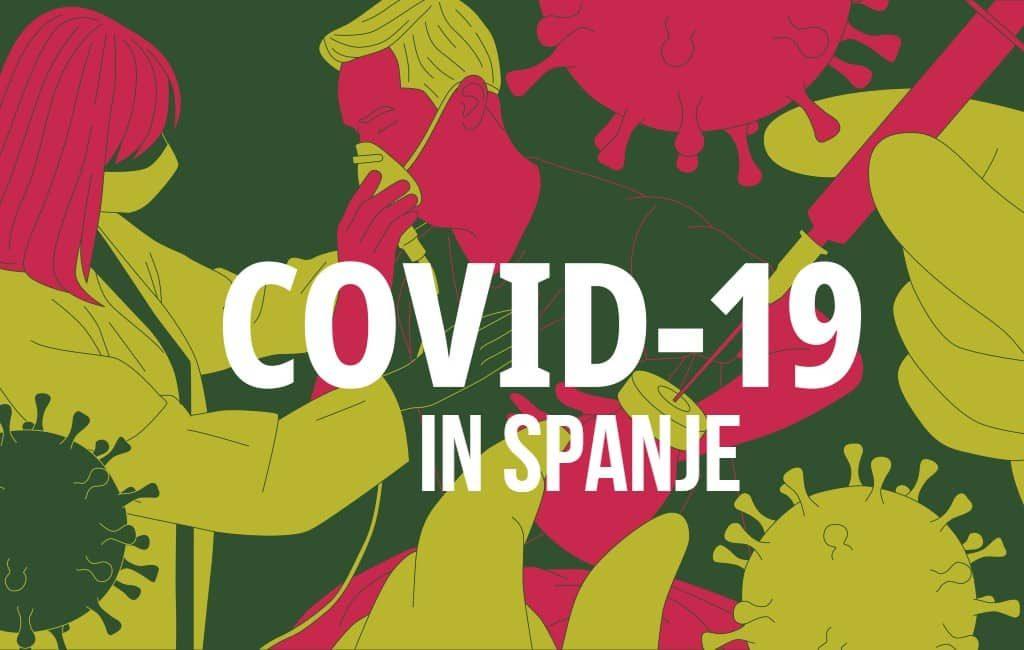 Corona Spanje: 3.594 nieuwe positieven en 47 sterfgevallen in 24 uur tijd