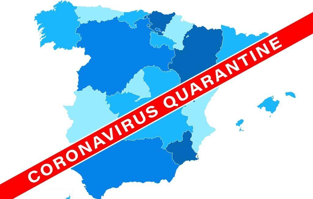 Wellicht voorzichtige versoepeling noodtoestand Spanje per half mei